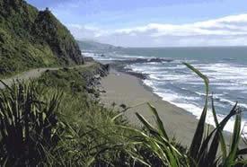 The coast road to Punakaiki