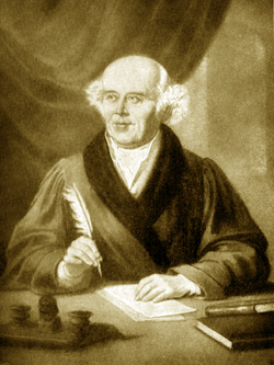 Samuel Hahnemann, the founder of homeopathy